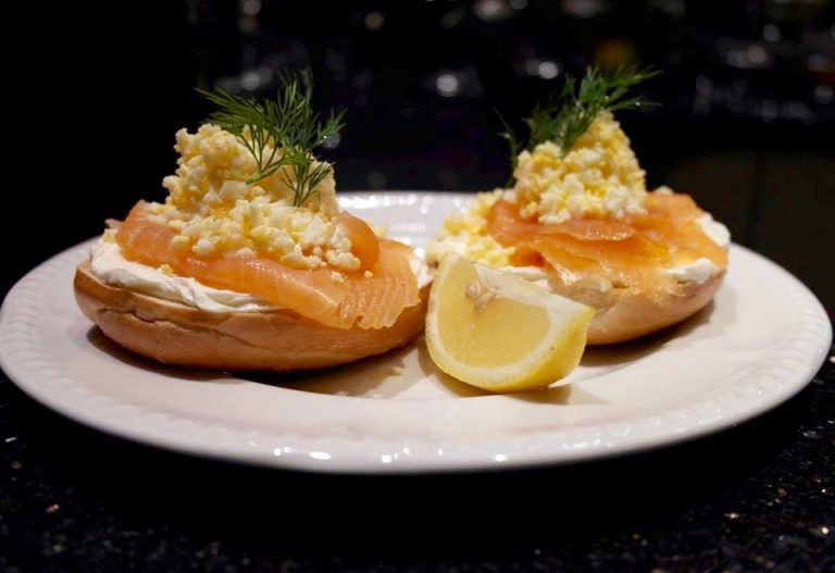 Smoked Salmon Muffin
