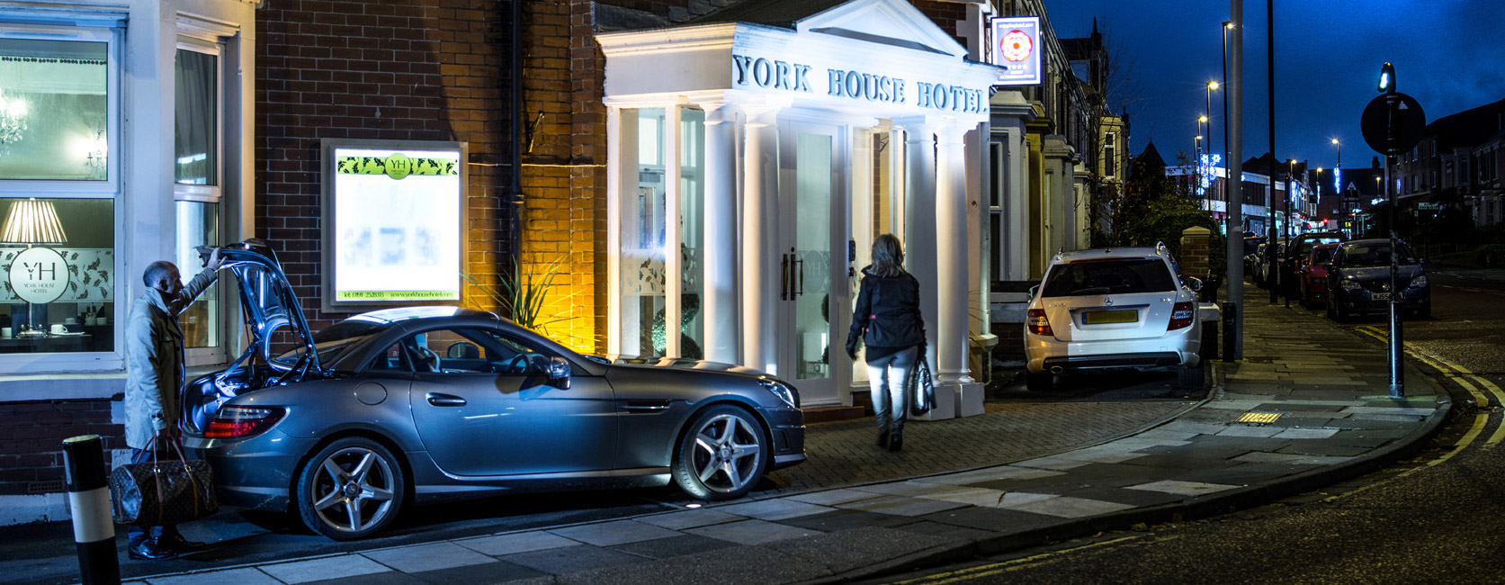 York House Hotel Entrance