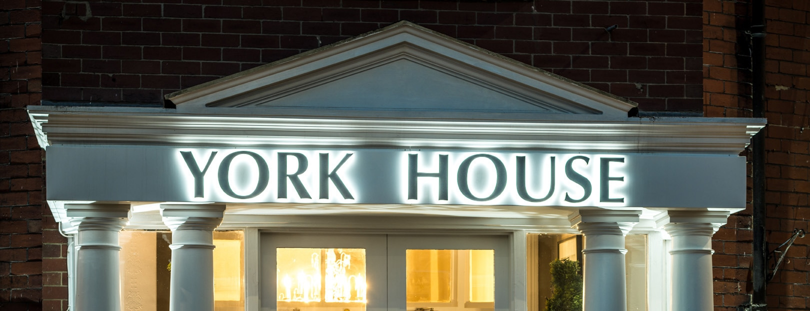 York House Hotel Sign